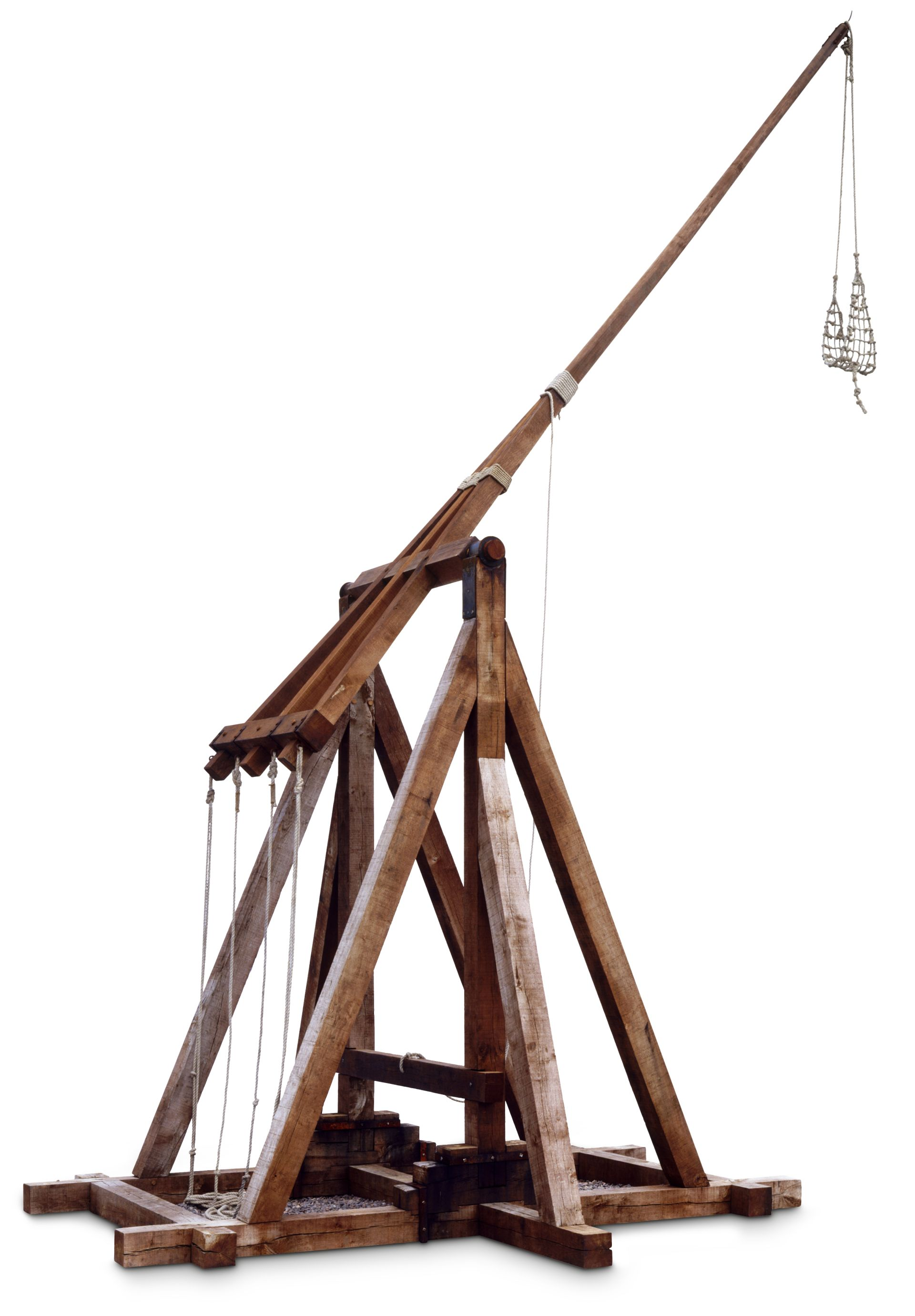 trebuchet The trebuchet is the siege weapon of the gauls it is used to bring havoc to the enemy village's buildings and resource fields the trebuchet should always be accompanied with other troops in order to reduce losses - as they have a very low attack value for their cost.