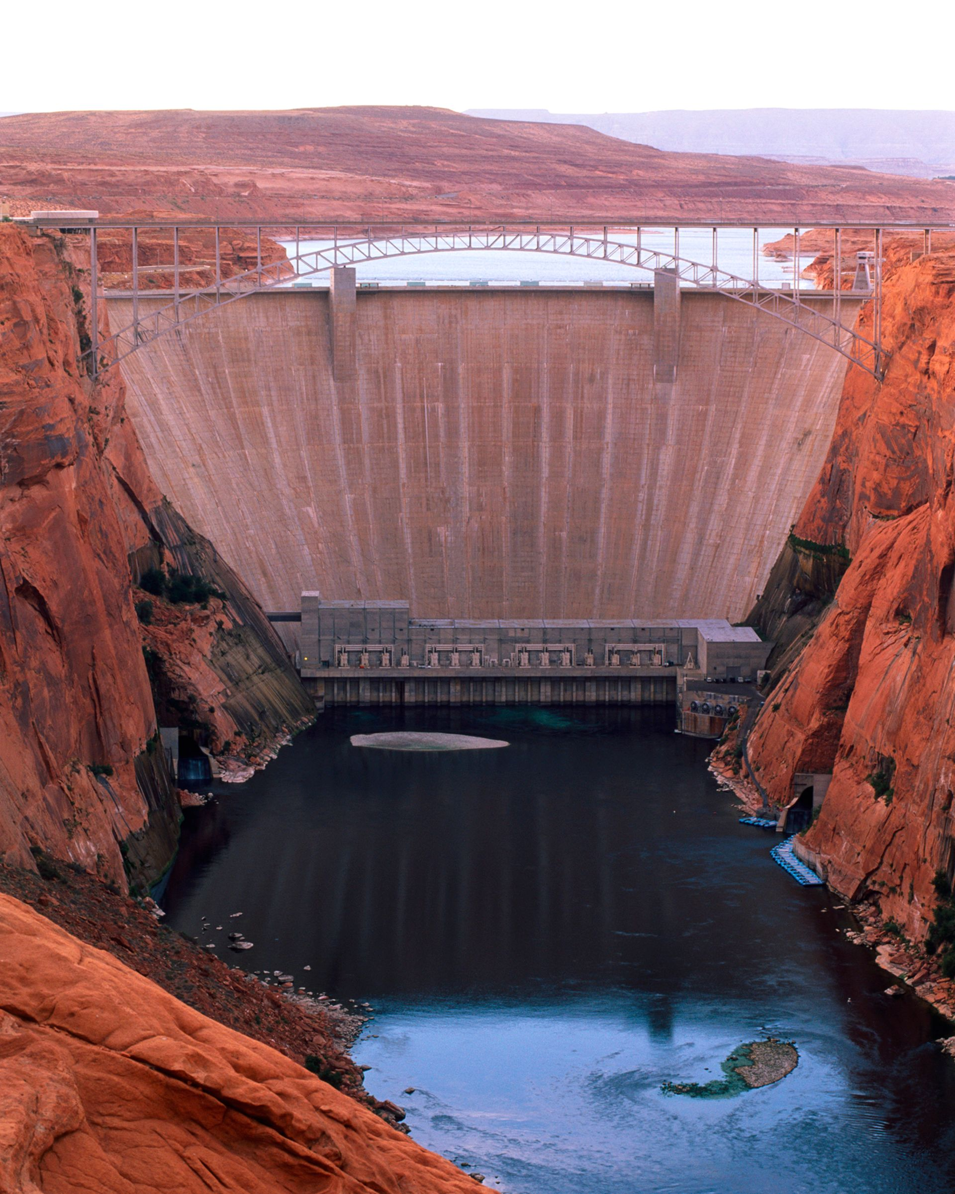 How are artificial dams 59