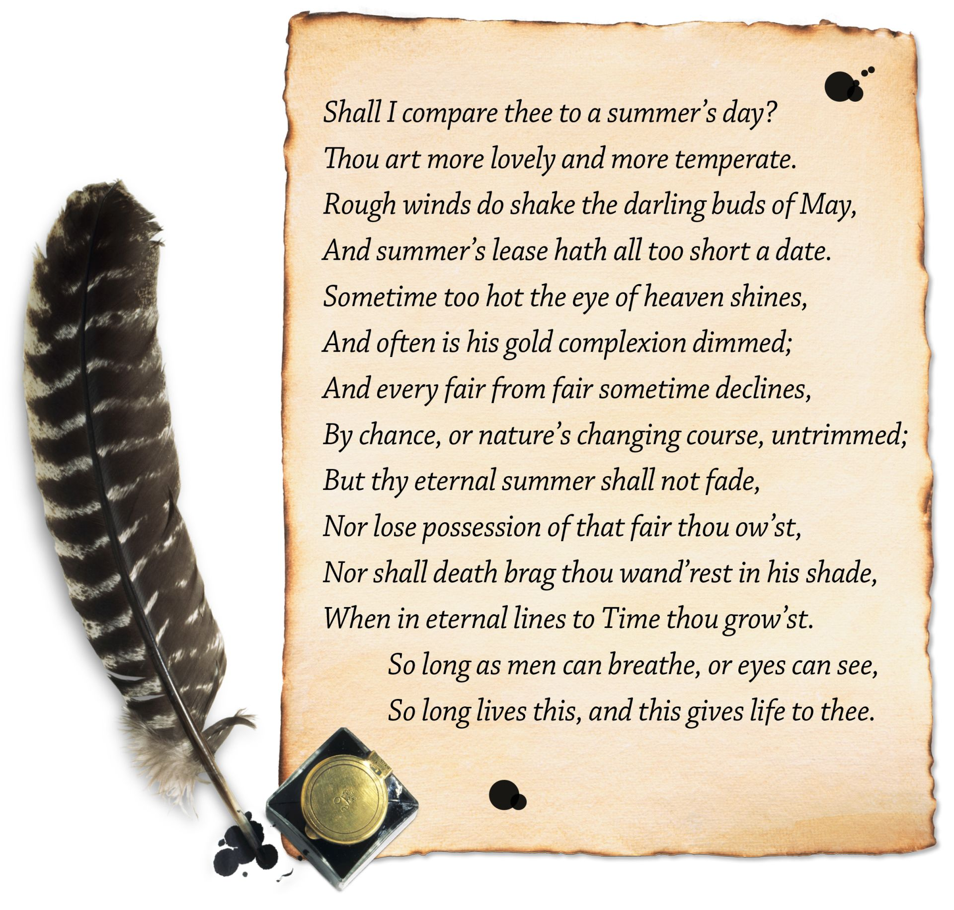shakespeares sonnets Shakespeare's sonnets are considered to be among the most romantic poems ever written explore a selection of the very best among them.