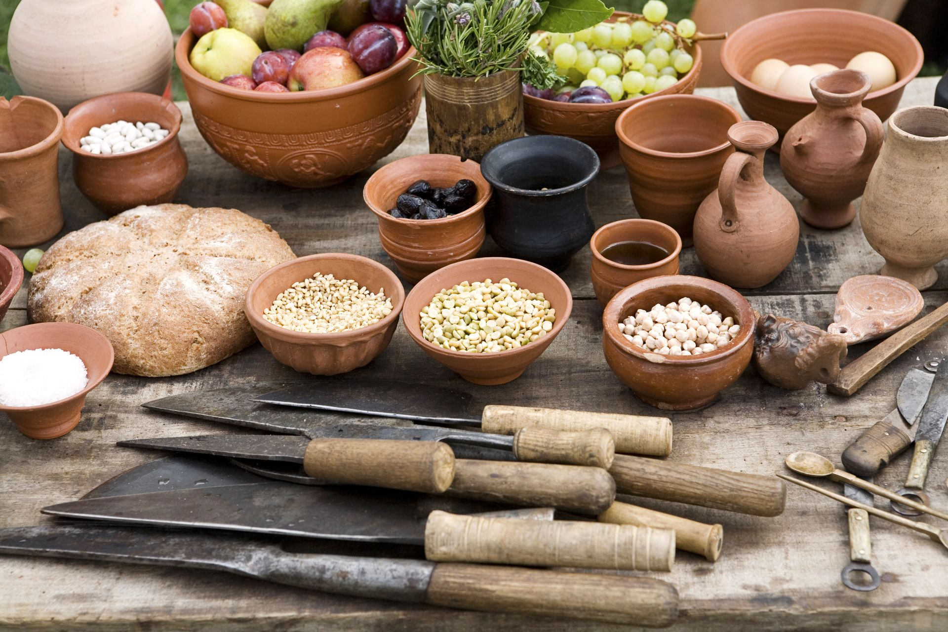 What did the romans eat ancient roman food dk find out for Ancient israelite cuisine