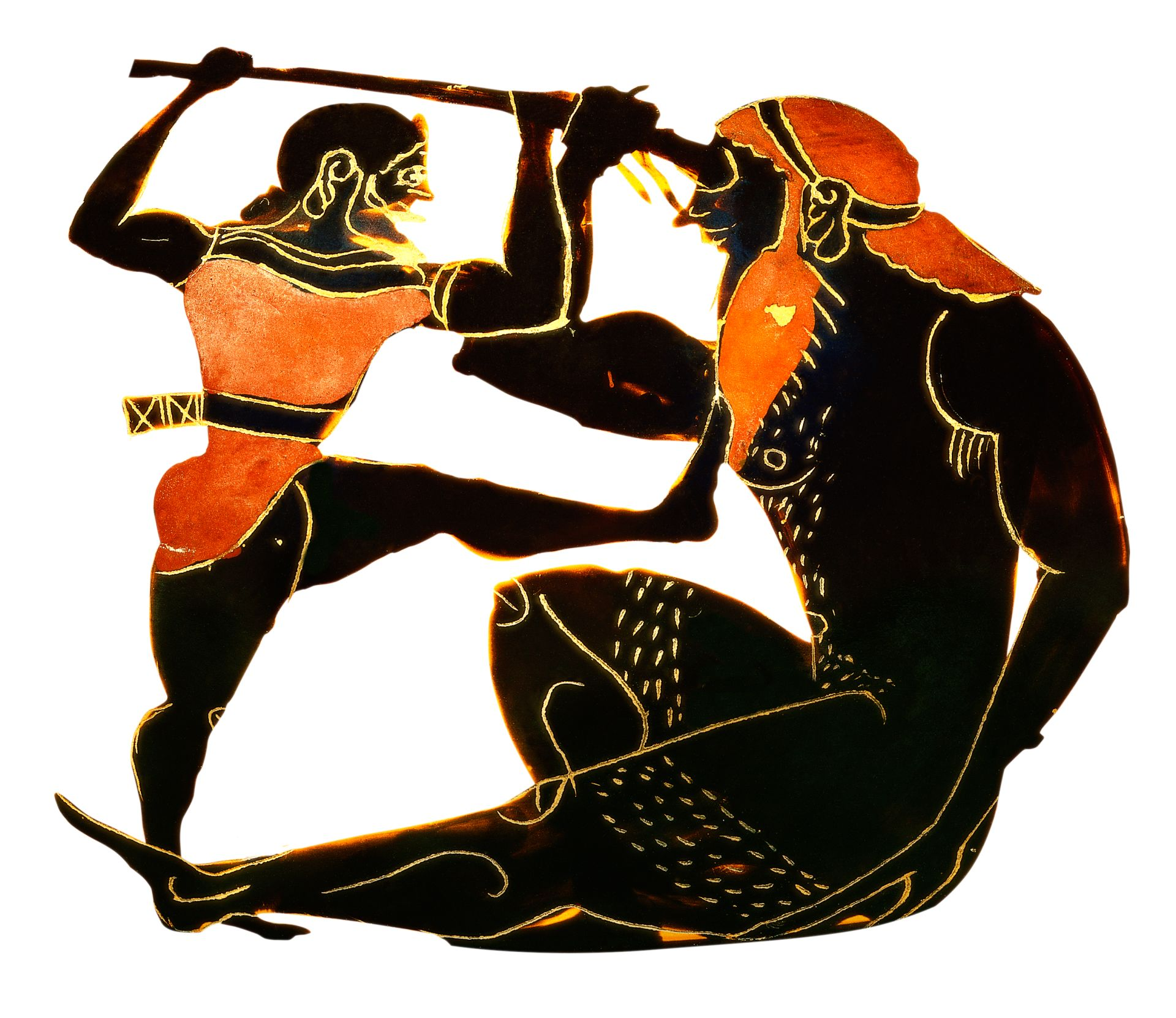 art of warfare depicted in homers iliad Guide to the classics: homer's iliad the fall of the athenian army in sicily during the peloponnesian war in 413 bc as depicted in teacher in every art.