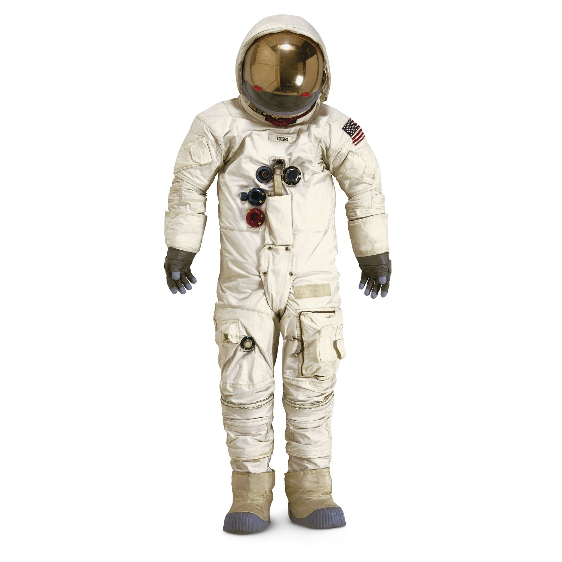 weight of apollo space suit - photo #15
