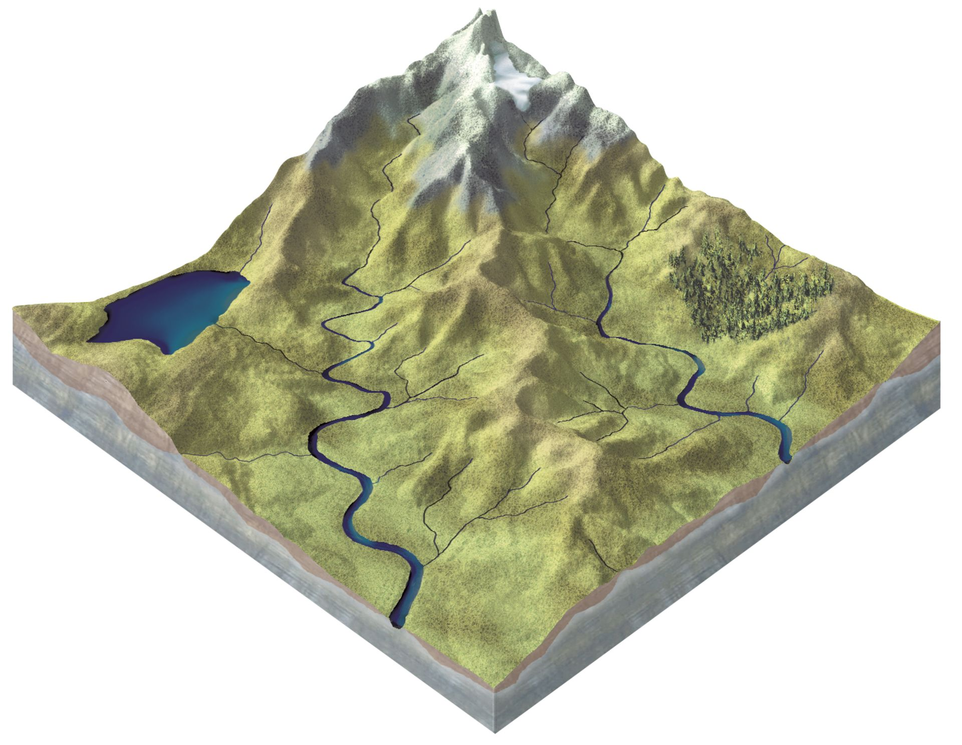 How Are Rivers Formed Formation Of Rivers Dk Find Out