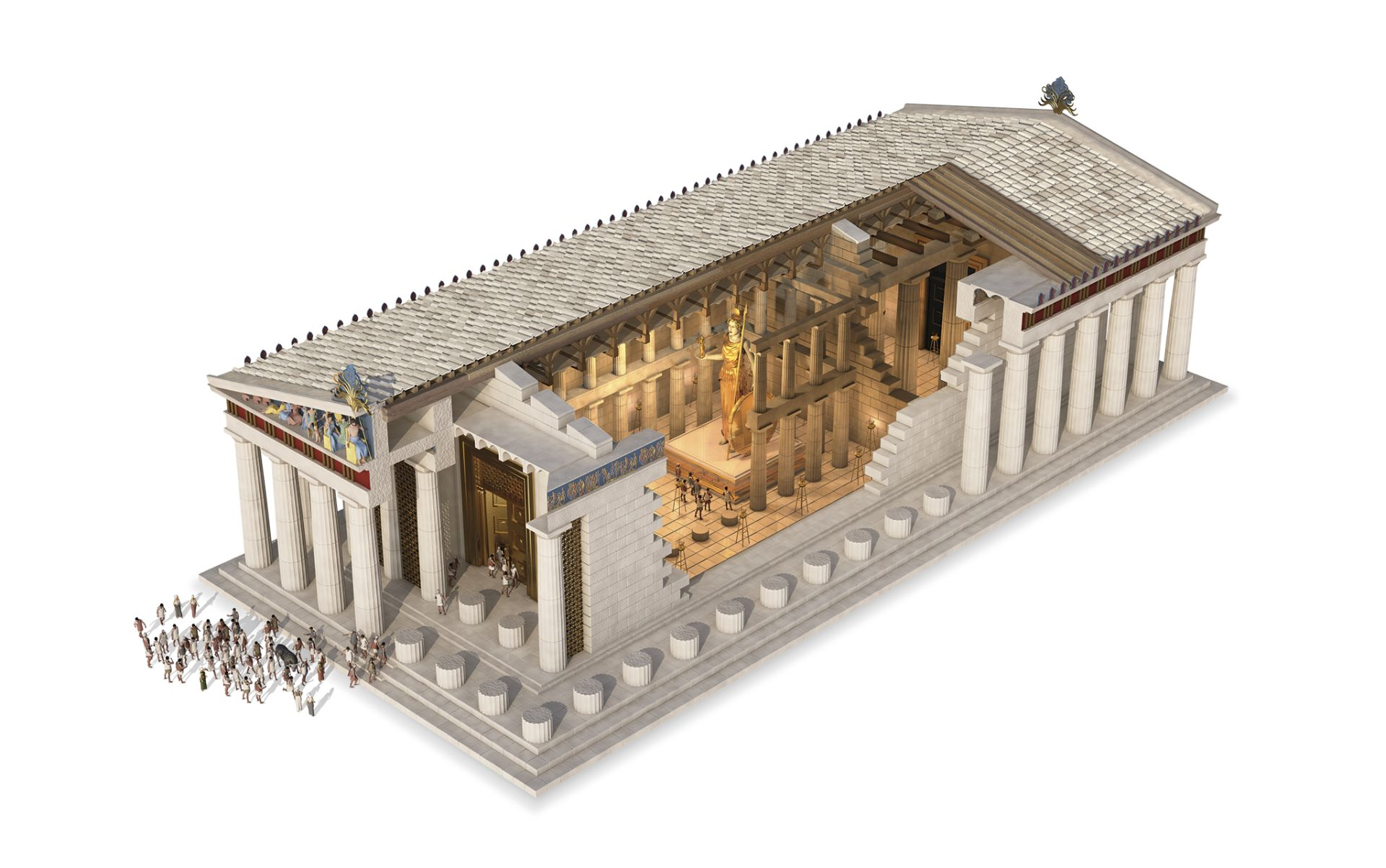 "a short history of the parthenon ""they were created in a short time for all time  mary beard, whose astute  history of the parthenon lies behind vigderman's study, has."