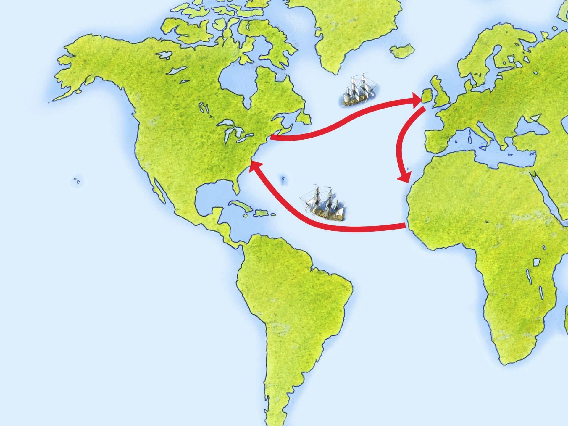 a history of the atlantic slave trade The atlantic slave trade from africa to the new world might well have been the  largest maritime migration in history the reason for this.