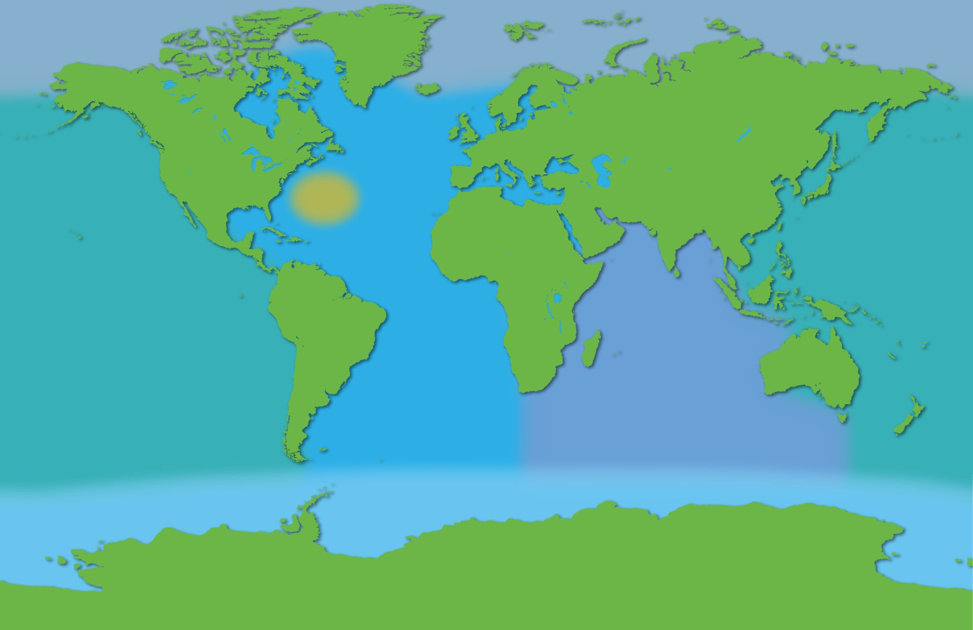 World Map Water.Oceans Of The World Seas Of The World Dk Find Out