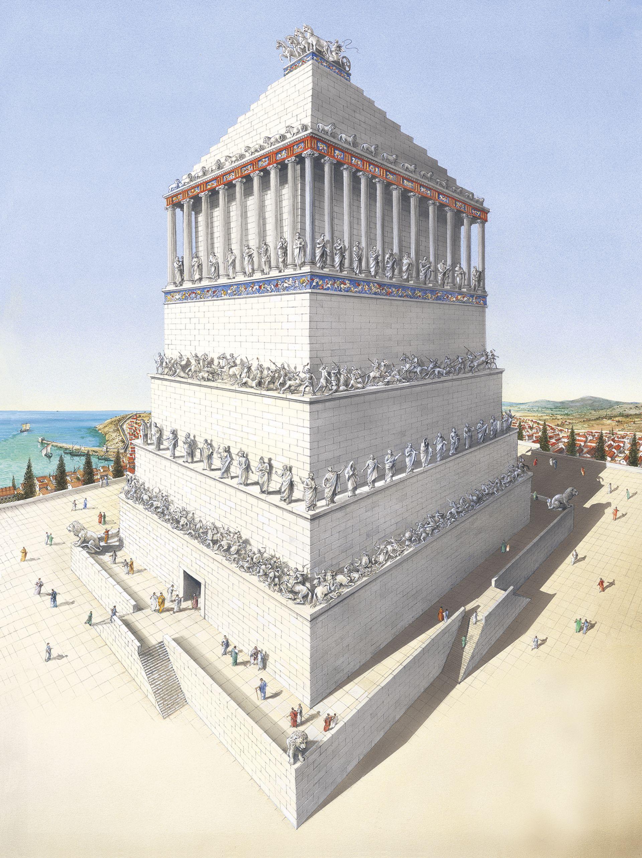 Mausoleum At Halicarnassus The Mausoleum Of