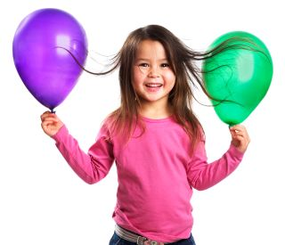 Static Electricity Experiment Hair