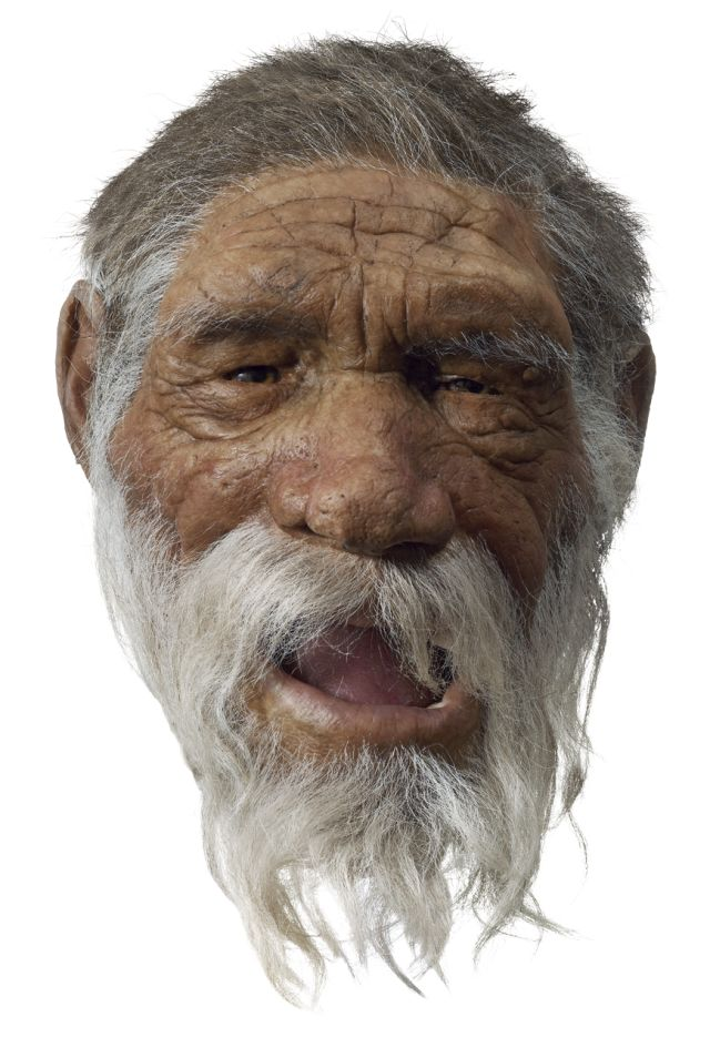 What did old stone age people wear?