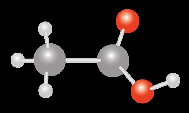 Vinegar molecule