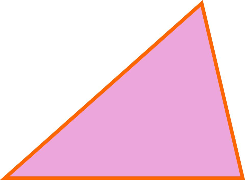 Scalene Triangle Outline Triangle defini...