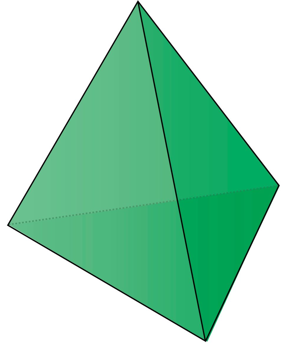 triangular based pyramid facts for kids dk find out