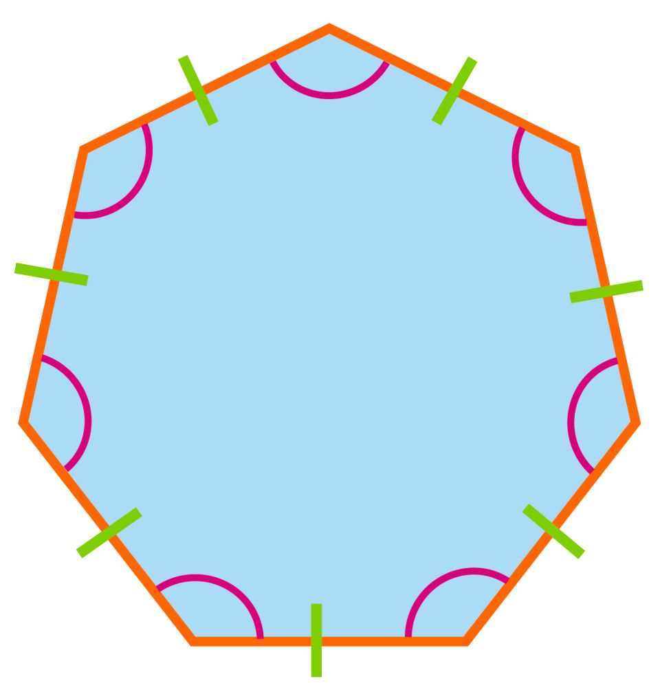 Image Gallery Heptagon Sides