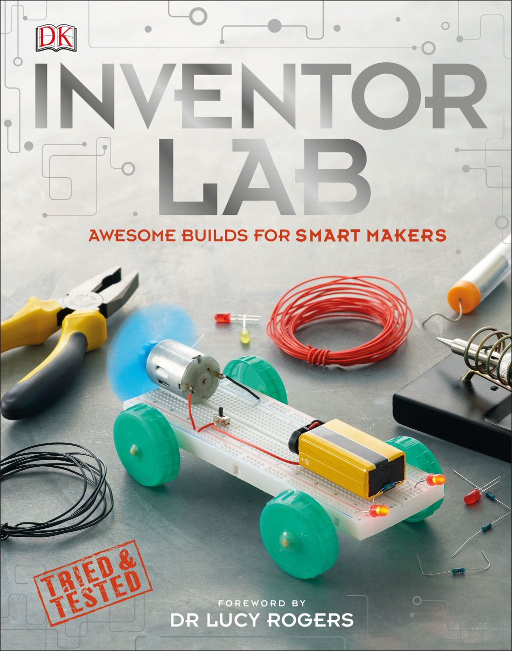 Hardback cover of Inventor Lab