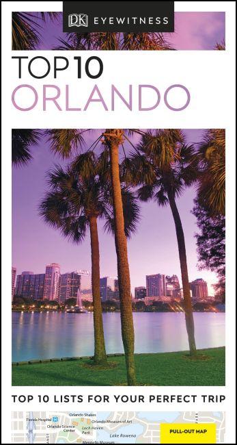 Paperback cover of DK Eyewitness Top 10 Orlando