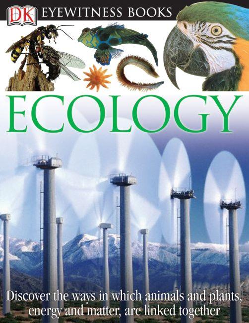 Hardback cover of DK Eyewitness Books: Ecology