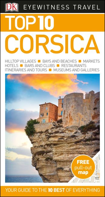 Paperback cover of Top 10 Corsica