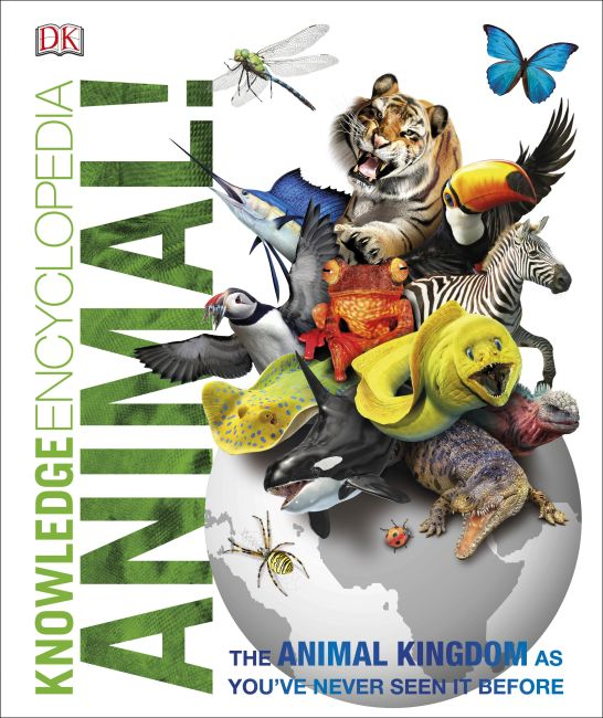 Hardback cover of Knowledge Encyclopedia Animal!