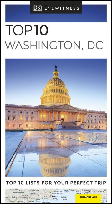 Paperback cover of Top 10 Washington, DC