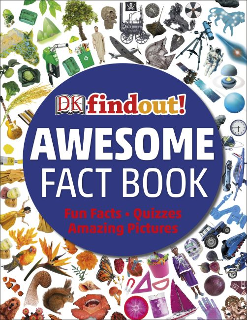 Flexibound cover of The Bumper Book of Amazing Facts