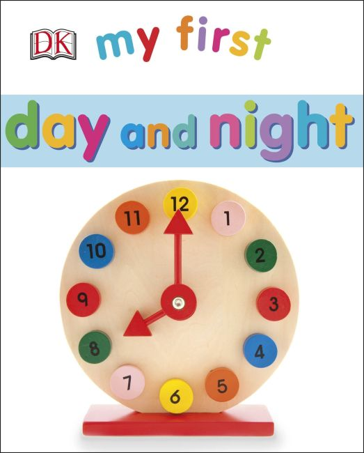 Board book cover of My First Day and Night