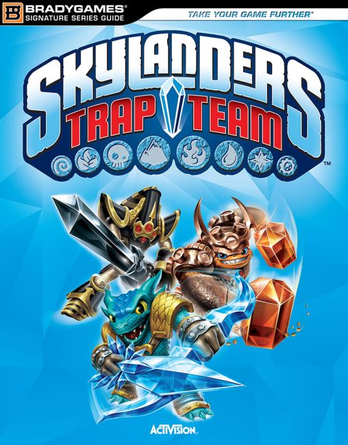 eBook cover of Skylanders Trap Team Signature Series Strategy Guide