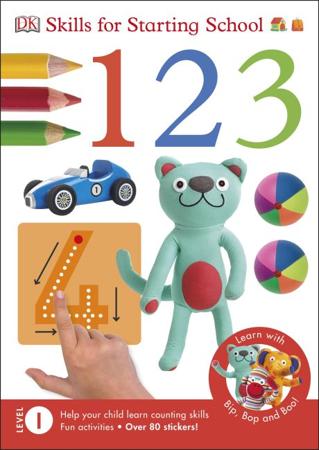Paperback cover of 1,2,3