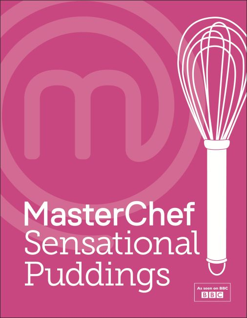 Hardback cover of MasterChef Sensational Puddings