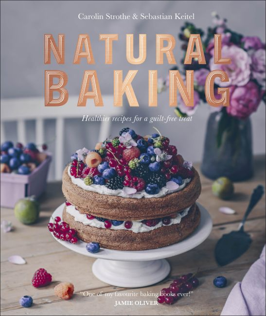 Hardback cover of Natural Baking