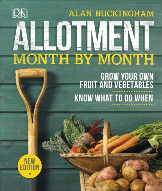 Hardback cover of Allotment Month By Month