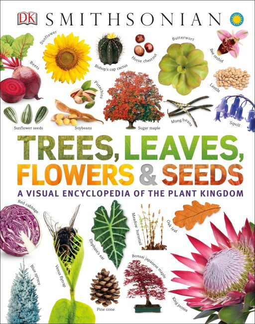 eBook cover of Trees, Leaves, Flowers & Seeds