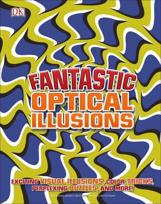 Hardback cover of Fantastic Optical Illusions