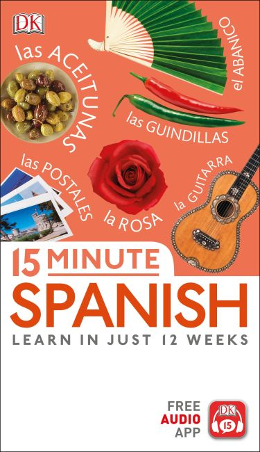 Paperback cover of 15 Minute Spanish