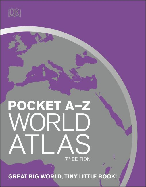 Paperback cover of Pocket A-Z World Atlas