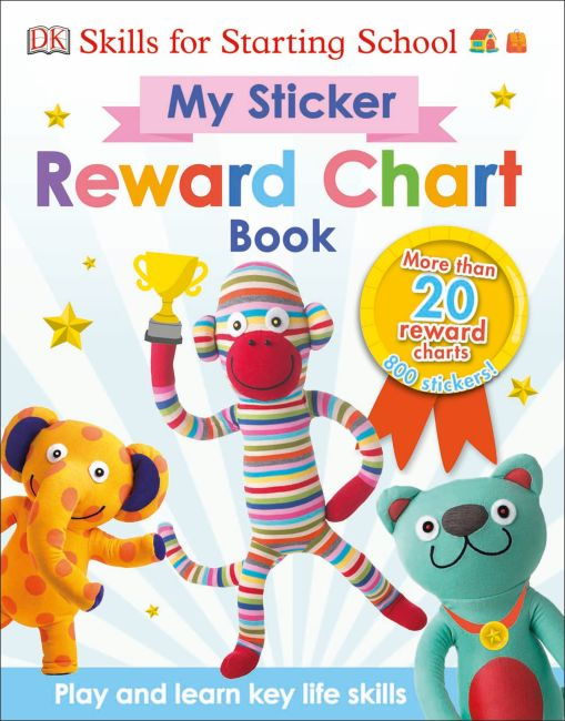 Book and CD cover of My Sticker Reward Chart Book