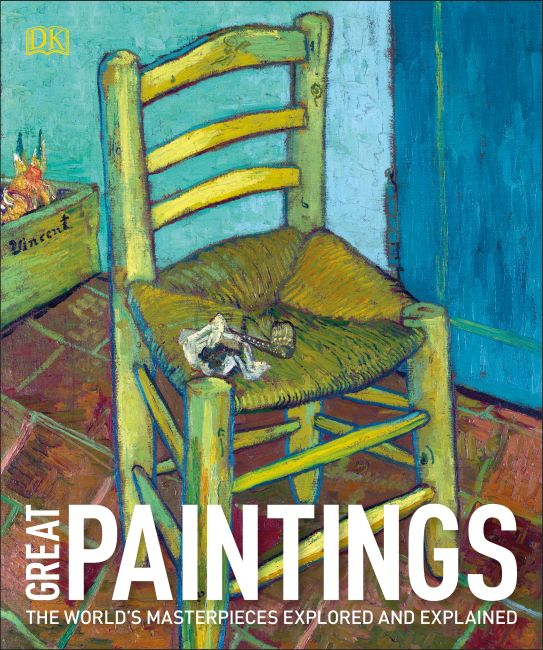 Paperback cover of Great Paintings