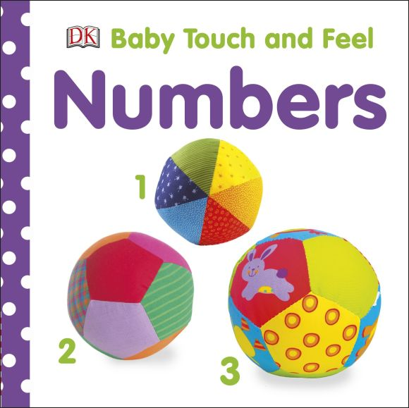 Board book cover of Baby Touch and Feel: Numbers