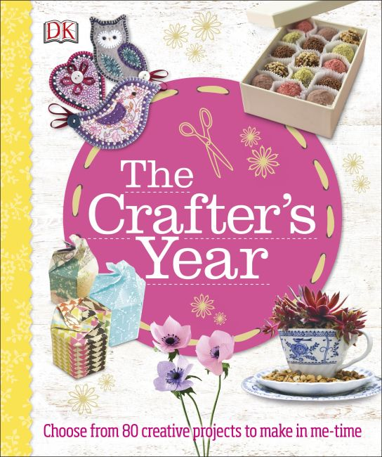 Hardback cover of The Crafter's Year