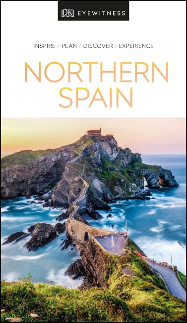 Paperback cover of DK Eyewitness Northern Spain