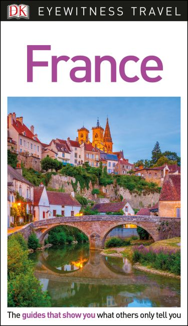 Flexibound cover of DK Eyewitness Travel Guide France