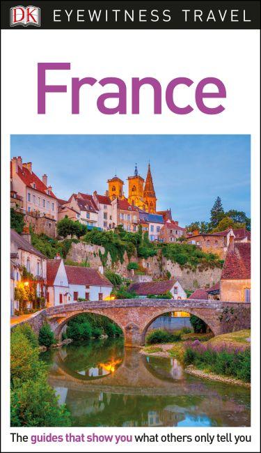Flexibound cover of DK Eyewitness Travel Guide France