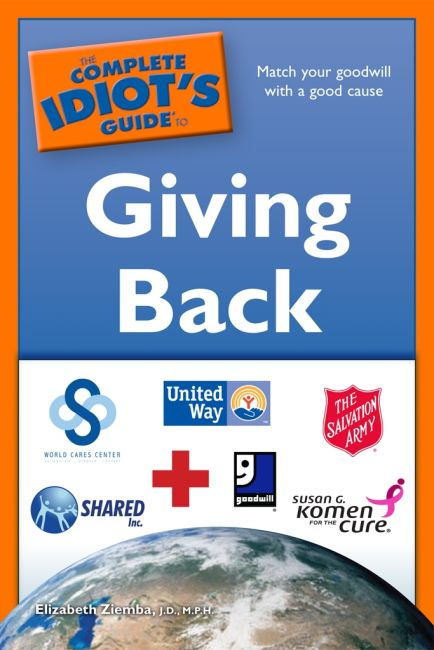 eBook cover of The Complete Idiot's Guide to Giving Back
