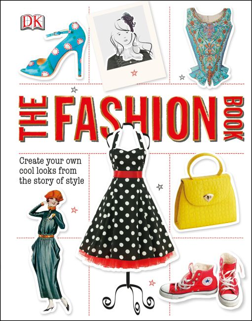 Hardback cover of The Fashion Book