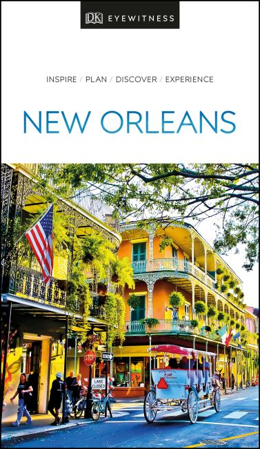 Paperback cover of DK Eyewitness Travel Guide New Orleans