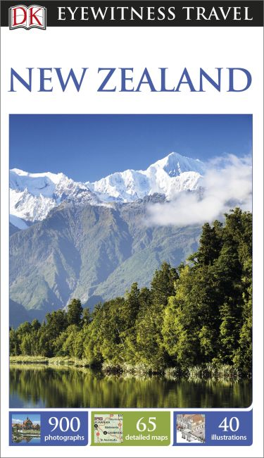 Paperback cover of DK Eyewitness Travel Guide New Zealand