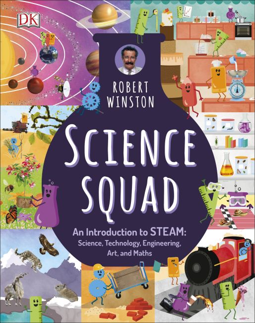 Hardback cover of Science Squad