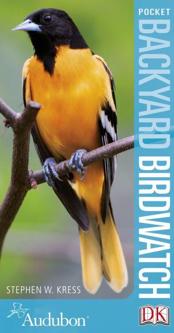 Paperback cover of Audubon Pocket Backyard Birdwatch 2nd Edition