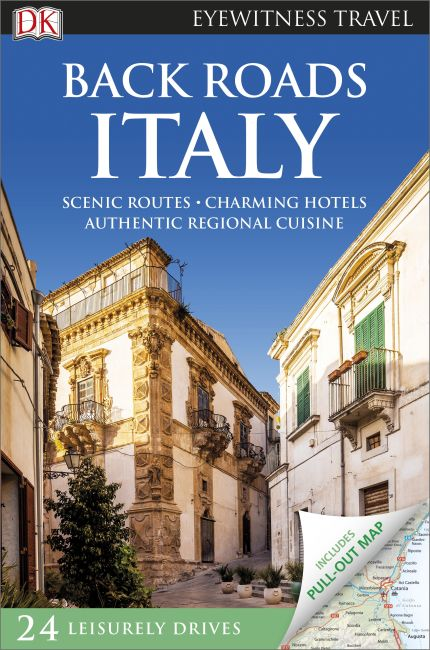 Flexibound cover of Back Roads Italy