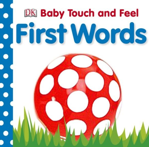 Board book cover of Baby Touch and Feel First Words
