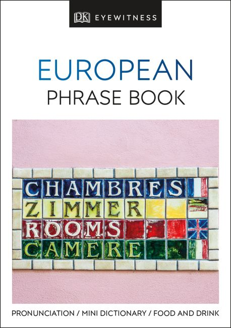 Paperback cover of European Phrase Book